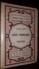 CÔTES NORMANDES ET BRETONNES - Albert Dubois - Normandie Bretagne