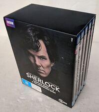 SHERLOCK Series 1 2 3 4 + Bonus BLU-RAY 10-Disc Box Set REGION B oz seller