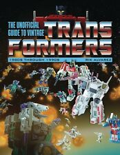 UNOFFICIAL GUIDE TO VINTAGE TRANSFORMERS (1980-1990) TPB Hasbro Toys TP