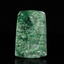 Chinese Exquisite Handmade jadeite jade Pendant