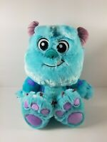"""Disney Baby Toddler Sully Pixar Monsters Inc Plush Toy Soft Fluffy 11"""" Tall"""