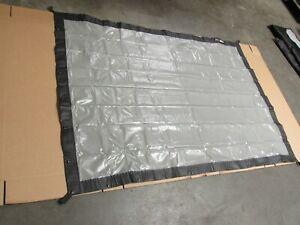 6x4 foot Da Lite front & rear projection fastfold screen KIT + drape kit