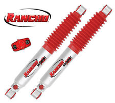 "Rancho RS9000XL Rear Shocks to suit Nissan Navara D40 with 4"" Lift"