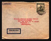 Belgian Congo 1940s Cover to USA / Light Creasing - Z16919