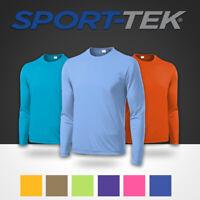 Sport-Tek St350LS Moisture Wicking Tee T Shirt Long Sleeve Performance Dri-fit