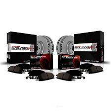 Disc Brake Pad and Rotor Kit-Z23 Evolution Geomet(R) Coated Brake Kit Front Rear