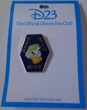 Disney Pin D23 2011 EXPO Professor Ludwig Von Drake GENIUS Le 500