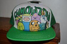 Adventure Time SHMOWZOW Trucker SNAPBACK Adjustable FLATBILL Cap Hat OSFM