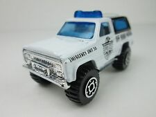 Matchbox 1983 Chevy 4X4 Blazer Off Road Patrol W/Antena Made In China (Loose)