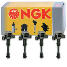 4 pcs NGK Ignition Coil for 2013-2014 Ford Fusion 1.6L L4 - Spark Plug Tune yd