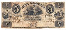 1839 Bank of Granville, Ohio - $5 Obsolete Note No.5776 - W1213-03 R8