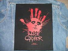 ALICE COOPER BACK PATCH - SPLATTER HAND