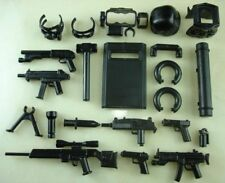 (18) custom swat police gun military army weapons 18 parts for LEGO minifigures