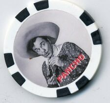 PANCHO  PLAYED BY LEO CARILLO  WESTERN MOVIE  COLLECTOR CHIP