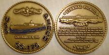 USS Perch SS 176 Submarine Challenge Coin