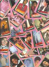 "1984 MICHAEL JACKSON Trading Card Set ""King of Pop Music"" Great Memory Piece"