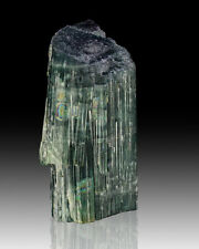 """1.2"""" 55ct Sapphire Blue INDICOLITE TOURMALINE Terminated Crystal Brazil for sale"""