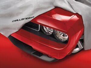 08-17 Dodge Challenger New Matrix® Vehicle Cover Gray Mopar Factory Oem
