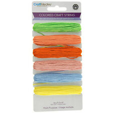 Colored Thread Craft String, 29.5-feet