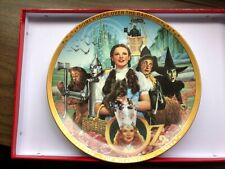 Wizard of Oz Hamilton plate Somewhere Over the Rainbow 50th Anniversary