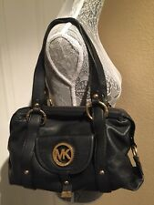 MICHAEL KORS Women's Black Leather Womens Hand/shoulder Bag