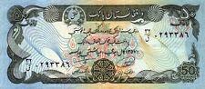 Afghanistan 1978 billet neuf UNC de 50 afghanis pick 54 SH 1357