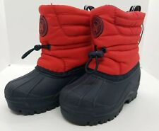 NAUTICA Latitude Toddlers Insulated Rain/Snow Boots Size 6