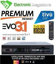 DECODER MEDIASET PREMIUM INTERATTIVO HD FULL HD evo3.1 HD DIGIQUEST LETTORE