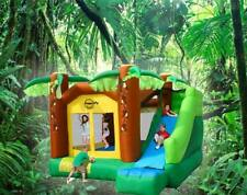 ORIGINAL AND THE BEST Happy Hop Monkey Jumping Castle and LGE slide