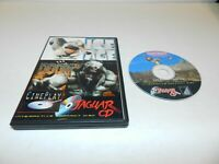 Cineplay Ice Age & Doom 3 Atari Jaguar CD Game - Tested Homebrew
