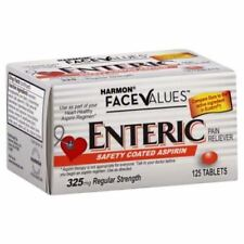 (12/18) Harmon Face Values Enteric Coated Asprin Tablets 325 mg 125