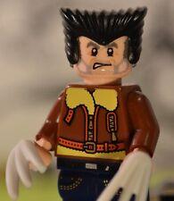 Custom 100% Genuine LEGO Marvel Superheroes Old Man Logan WOLVERINE X-Men Future