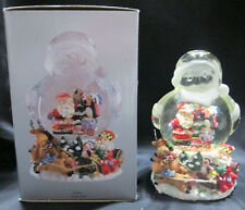 Gift Gallery Musical Christmas Santa Shaped Waterball Sleigh Ride Snow Globe