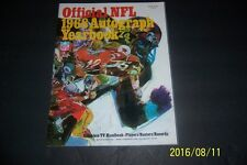 1968 NFL Autograph Yearbook BART STARR Unitas SAYERS Brian PICCOLO Dick BUTKUS