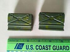 Vintage GI Joe Marine/Green Beret-Two Camouflage FIELD RADIOs-#7536-Hasbro-Japan
