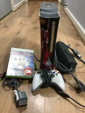 Microsoft Xbox 360 Console Bundle | 20GB Hard Drive, Controller, Cables & Game