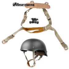 Système de suspension tactique Sangle de jugulaire militaire pour casque MICH