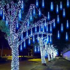 LED meteor shower outdoor decoration lights Christmas tree lights starry