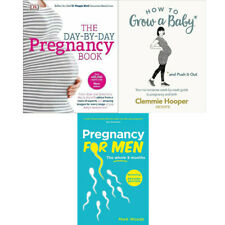 Pregnancy For Men, How To Grow A Baby & Push It Out 3 Books Collection Set New