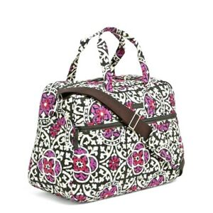 NWT Vera Bradley Medium Travel Carry On Lap Top Bag~Scroll Medallion~$118 tag