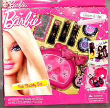 Barbie Fab Beauty Set Glam It Up Beauty in Colors Brand New 8 Pieces Super Cute