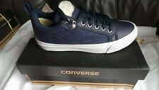BRAND NEW in box Converse CT All Star Fulton Ox Trainers UK 6 EU 40 Navy