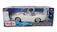 Maisto Die Cast Shelby Series 1 Special Edition 1:18 in Original Box White