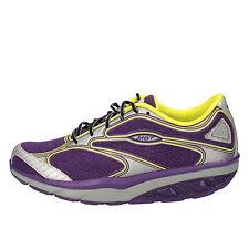 scarpe donna MBT 36 EU sneakers viola tessuto dynamic AB20-B