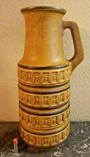 Ancien Vase W Germany céramique Allemagne de l'Est Fat Lava vintage années 50-70