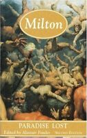 Milton: Paradise Lost (Longman Annotated English Poets) Paperback Book The Fast