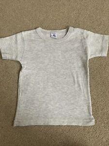 Petit Bateau Grey T-shirt Size 2 Years
