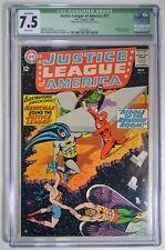 JUSTICE LEAGUE OF AMERICA #31 CGC 7.5 White Hawkman Joins JLA 11/64 Qualified