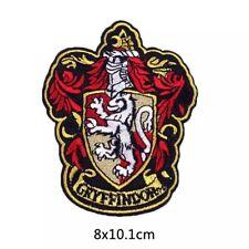 Harry Potter, Gryffindor Crest - Iron On Patch Embroidered Badge DIY Emblem