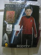 Star Trek Scotty Fancy Dress Up Halloween 5-7years BRAND NEW IN PACKET